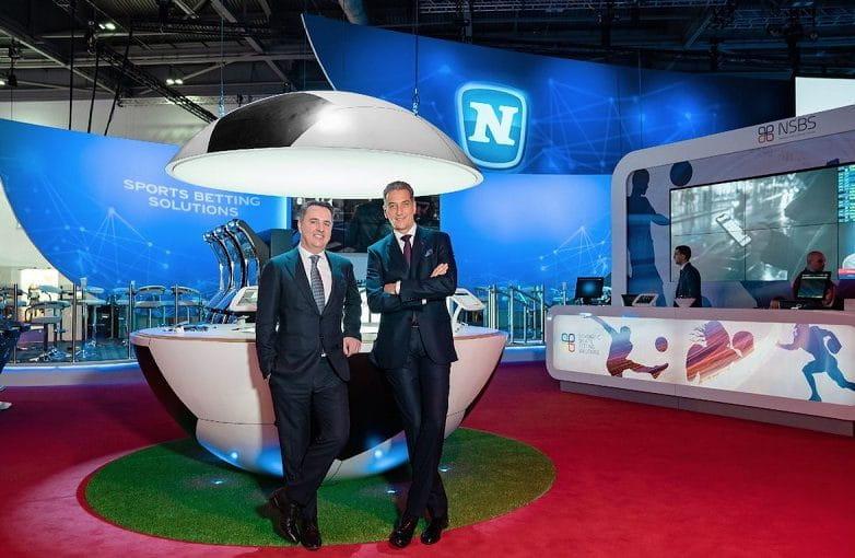 Harald Neumann und Thomas Graf auf der ICE London.