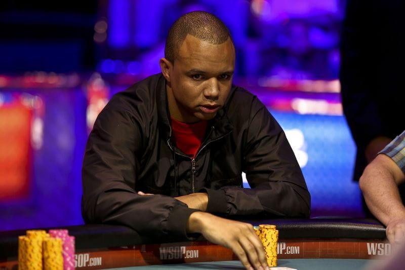 Ein Foto des weltbekannten Pokerstars Phil Ivey.