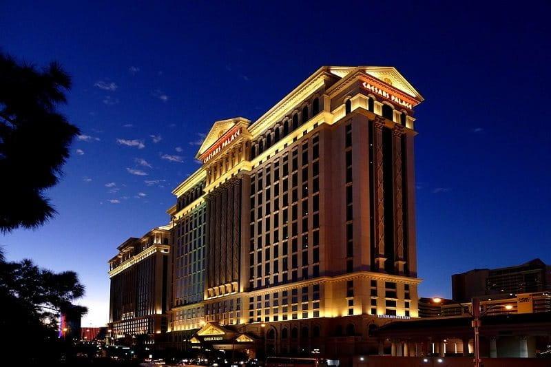 Der weltberühmten Caesars Palace in Las Vegas.