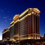 Der weltberühmten Caesars Palace in Las Vegas