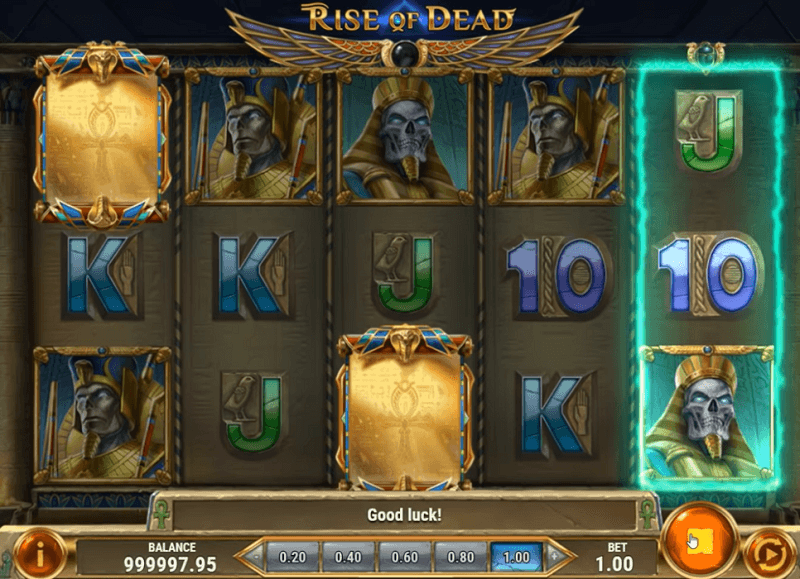 Der neue PnG-Slot Rise of Dead.