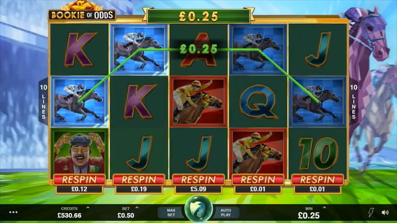 Der neue Microgaming-Slot Bookie of Odds.