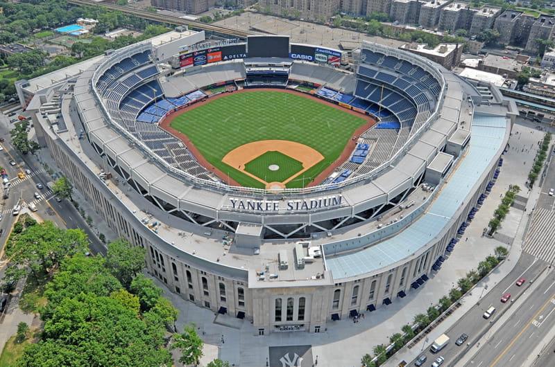 Das Stadion der New York Yankees und des Fußballklubs New York City FC.