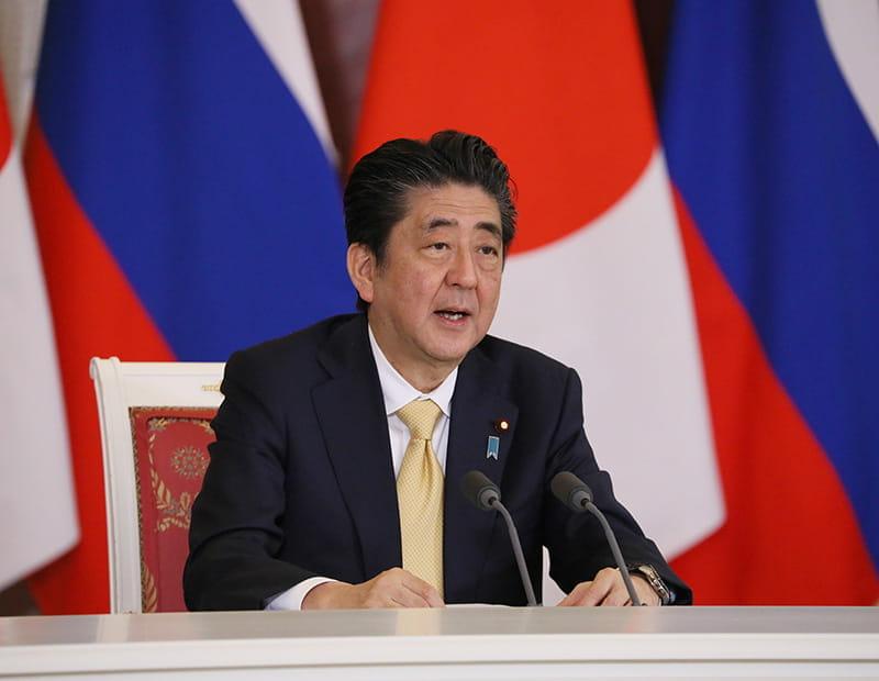Der japanische Premierminister Shinzo Abe.