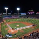 Der Fenway Park des US-Baseballklubs Boston Red Sox.