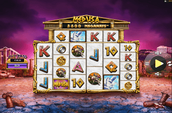 Der neue NextGen-Slot Medusa Megaways.