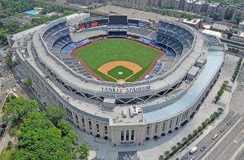 Das Stadion der New York Yankee