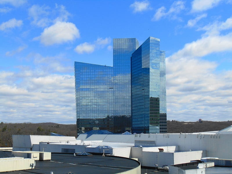 Das Mohegan Sun Casino in Uncasville, Connecticut.