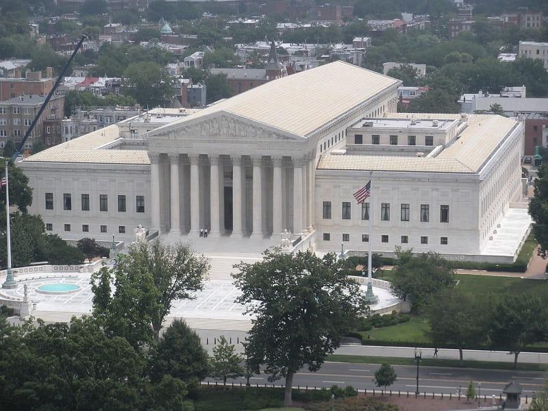 Der United States Supreme Court (USSC) in Washington.