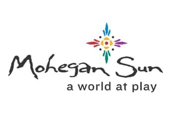Das Logo des Casinounternehmens Mohegan Sun.
