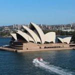 Das Opernhaus in Sydney, Australien.