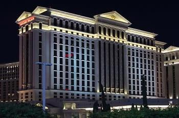 Der legendäre Caesars Palace in Las Vegas.