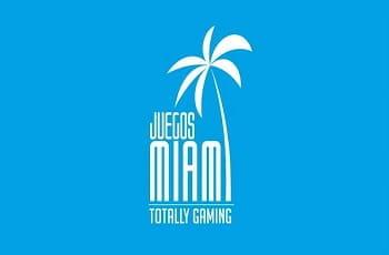 Das Logo der Glücksspielmesse Juegos Miami.
