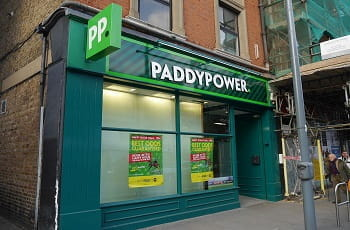 Eine Paddy Power-Filiale in London.