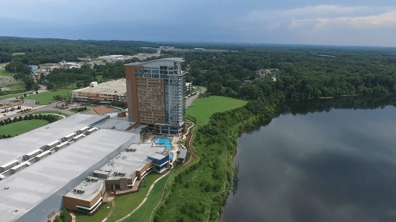 Das Poarch Wind Creek Casino in Alabama.