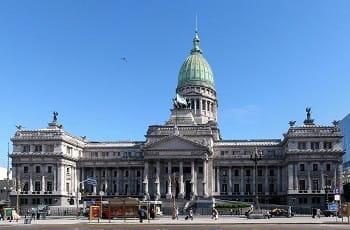 Der Nationalkongress von Buenos Aires.