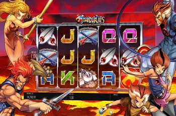 Der neue Blueprint-Slot Thundercats: Reels of Thundera.