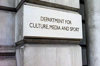 Das Hauptgebäude des britischen Kulturministeriums.