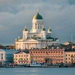 Die Kathedrale in Helsinki.