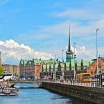 Das Zentrum der dänischen Hauptstadt Kopenhagen.