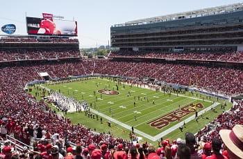 Das Levi's Stadium der San Francisco 49ers.