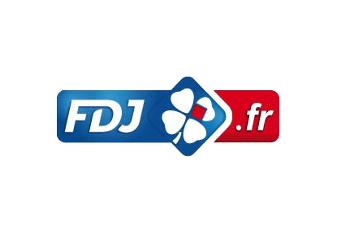 Das Logo des französischen Glücksspielunternehmens FDJ.