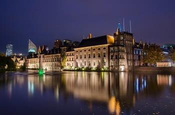 Das niederländische Parlament in Den Haag.