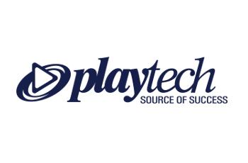 Das Logo des britischen Spieleentwicklers Playtech.