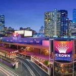 Ein Blick auf das Crown Casino Melbourne.