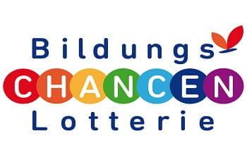 Das Logo der Bildungs-Chancen-Lotterie.