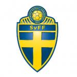 Das Logo des schwedischen Fußballverbands SvFF.