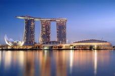 Das Marina Bay Sands in Singapur.