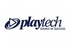 Das Logo des britischen Technologieanbieters Playtech.
