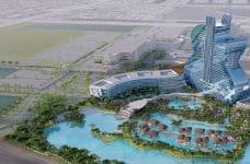 Ein Blick auf das neue Seminole Hard Rock Hotel & Casino Hollywood in Florida.