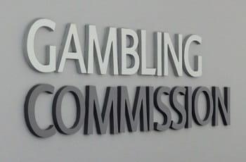 Das Logo der britischen Glücksspielaufsichtsbehörde, UK Gambling Commission.