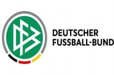 Das Wappen des Deutschen Fußball-Bundes, DFB.