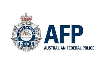 Das Logo der australischen Bundespolizei AFP.