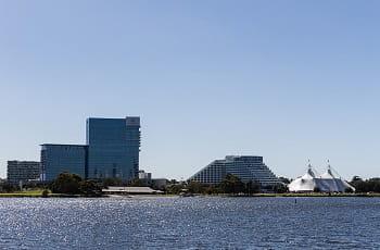 Das Crown Resorts im australischen Perth.