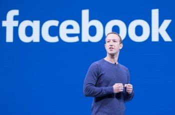 Facebook-Gründer Mark Zuckerberg bei einer Konferenz.