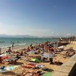 Der Strand von El Arenal auf Mallorca.
