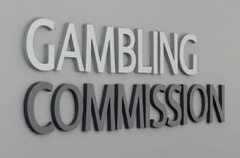Das Logo der UK Gambling Commission.