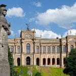 Bayerischer Landtag in München.