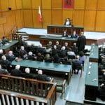Einblick in einen Gerichtssaal des maltesischen Zivilgerichts.