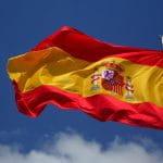 Flagge von Spanien.