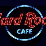 Ein Logo des Unterhaltungskonzerns Hard Rock International.