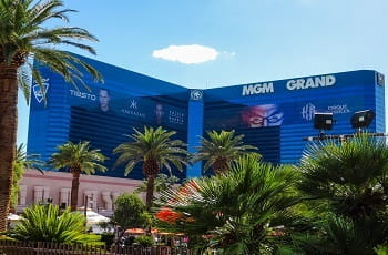 Das MGM-Grand in Las Vegas.