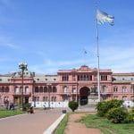Casa Rosada, der Wohnsitz des argentinischen Präsidenten.