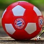 Ein FC Bayern München-Fußball.