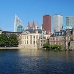 Der Binnenhof von Den Haag.
