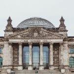 Das Reichstagsgebäude in Berlin.